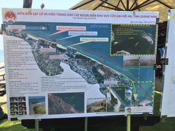 Quảng Nam đề xuất bố trí 700 tỉ đồng ngăn chặn sạt lở biển Cửa Đại - Ảnh 3.