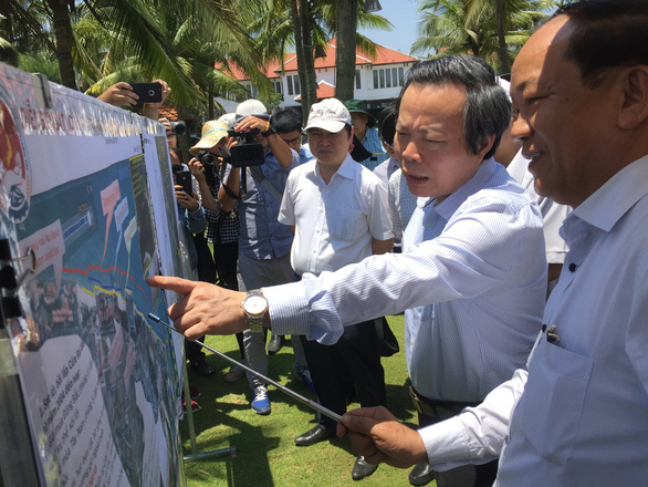 Quảng Nam đề xuất bố trí 700 tỉ đồng ngăn chặn sạt lở biển Cửa Đại - Ảnh 1.