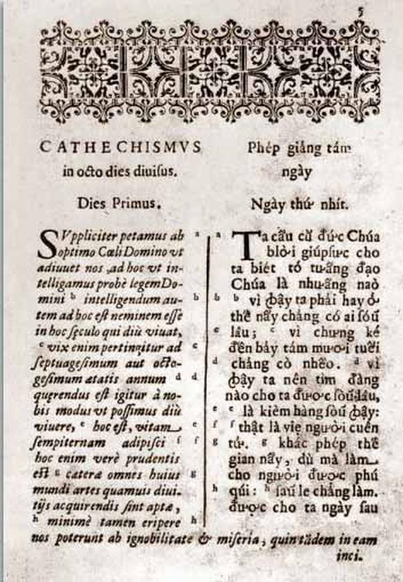 Những nhân vật đầu tiên trong tiến trình chữ quốc ngữ - Kỳ 4: Người đầu tiên in sách quốc ngữ - Ảnh 4.