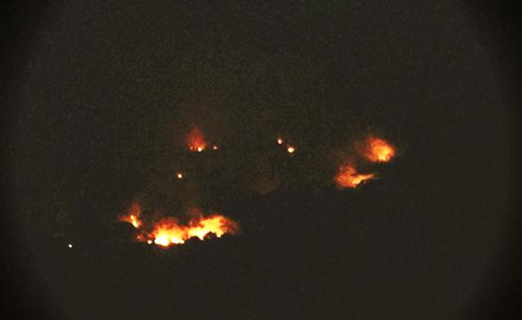 Cháy 6ha rừng đặc dụng đèo Cả - Ảnh 2.