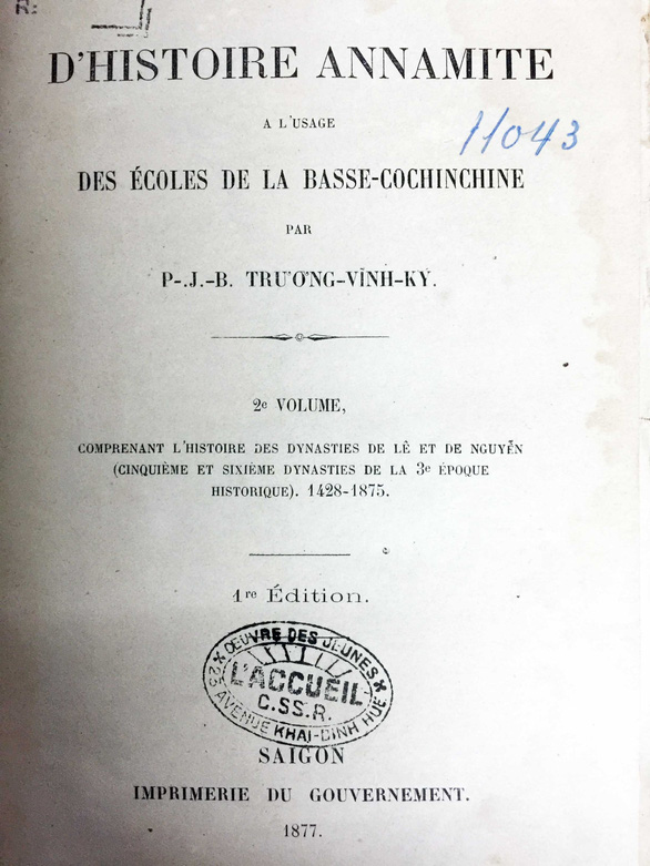 Trương Vĩnh Ký - Thầy dạy chữ quốc ngữ đầu tiên - Ảnh 3.