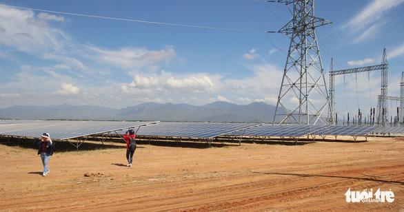 Ninh Thuận có thêm 3 nhà máy điện mặt trời - Ảnh 1.