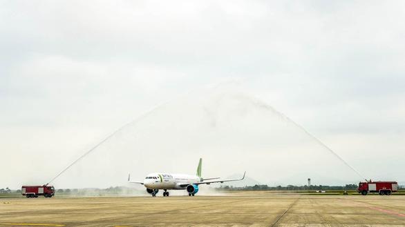 Bamboo Airways liên tục đón máy bay mới trước thềm nghỉ lễ - Ảnh 1.