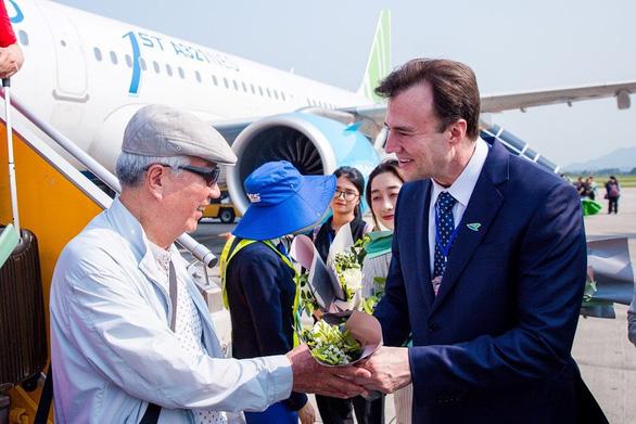 Bamboo Airways đón chuyến bay quốc tế đầu tiên từ Hàn Quốc - Ảnh 8.
