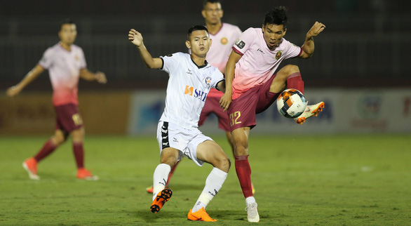 Hà Đức Chinh dự bị, SHB Đà Nẵng thua Sài Gòn 1-3 - Ảnh 2.