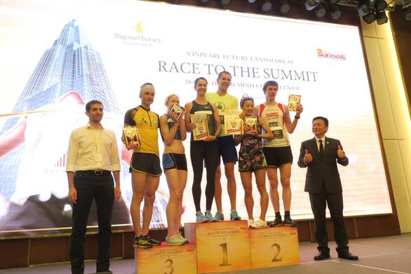 Sôi nổi giải chạy Race to the Summit - Cuộc đua lên đỉnh cao - Ảnh 4.