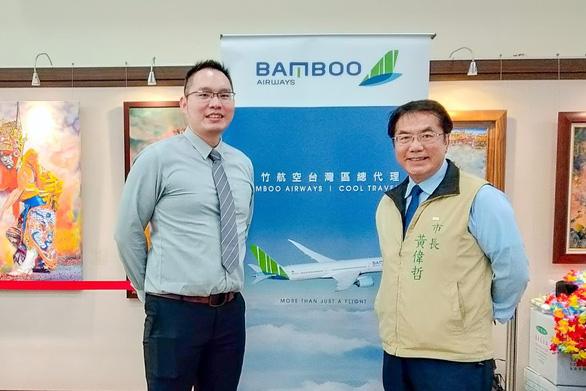 Những chuyến bay đầu tiên của Bamboo Airways đến Đài Loan - Ảnh 1.
