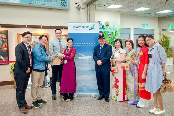 Những chuyến bay đầu tiên của Bamboo Airways đến Đài Loan - Ảnh 5.