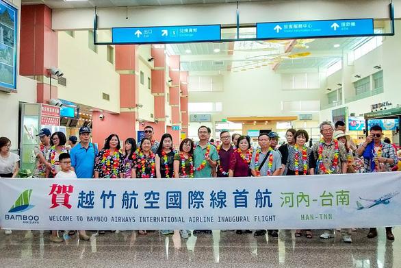 Những chuyến bay đầu tiên của Bamboo Airways đến Đài Loan - Ảnh 7.