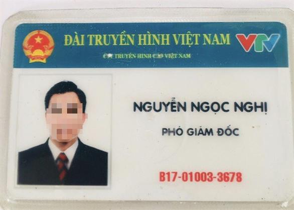 Bị CSGT tuýt còi, tự xưng phó giám đốc VTV rồi trình thẻ... giả - Ảnh 1.