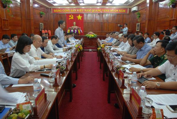 Đề nghị Bộ Công thương hỗ trợ Bình Phước phát triển điện mặt trời - Ảnh 1.