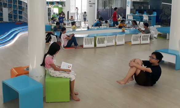 Những thư viện mở níu chân học sinh - Ảnh 1.