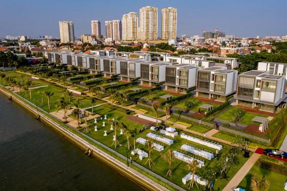 Sức sống mới bên sông Sài Gòn từ dự án biệt thự siêu sang - Ảnh 1.