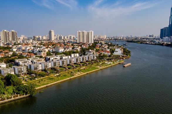 Sức sống mới bên sông Sài Gòn từ dự án biệt thự siêu sang - Ảnh 2.