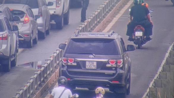 TP.HCM xin xử lý vi phạm trên đường dẫn cao tốc TP.HCM - Long Thành - Dầu Giây - Ảnh 1.