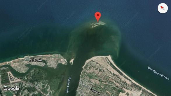 Đau đầu với đảo cát biển Cửa Đại phình 15 hecta - Ảnh 1.