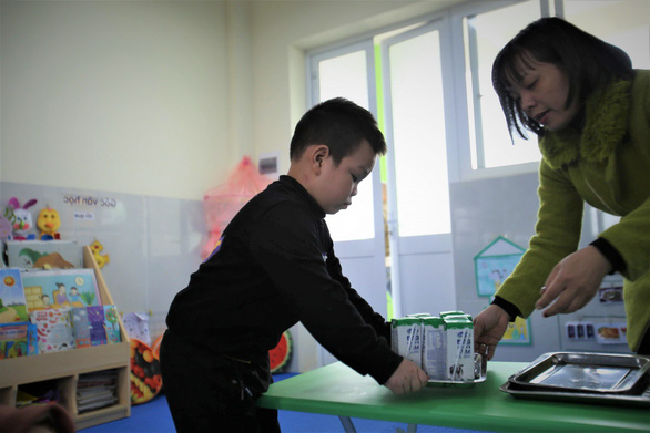 """Gần 1 triệu trẻ em Hà Nội tham gia """"Sữa học đường"""" - Ảnh 1."""