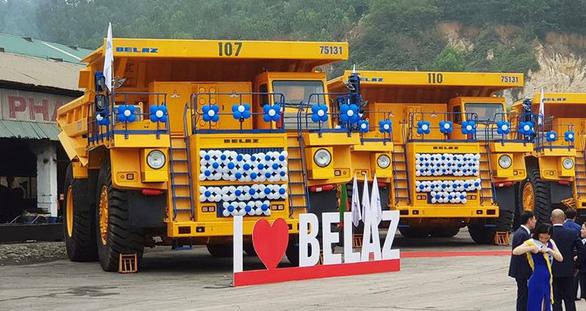 Thử nghiệm 4 xe siêu vận tải 1,6 triệu USD/xe khủng nhất Việt Nam - Ảnh 3.