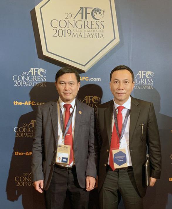 Ông Trần Quốc Tuấn tái đắc cử vào Ban Thường vụ AFC - Ảnh 1.