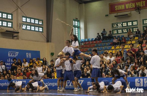 Sôi động nhảy đối kháng tại chung kết Giải thể thao sinh viên Việt Nam - Ảnh 4.