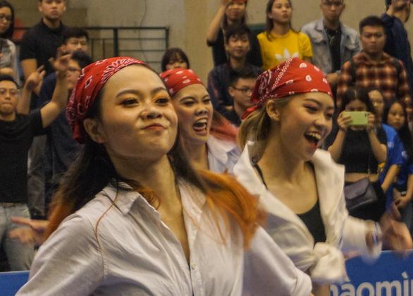 Sôi động nhảy đối kháng tại chung kết Giải thể thao sinh viên Việt Nam - Ảnh 5.