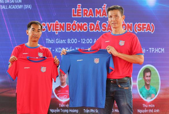 Cựu tuyển thủ Nguyễn Thế Anh mở Học viện Bóng đá Sài Gòn - Ảnh 1.
