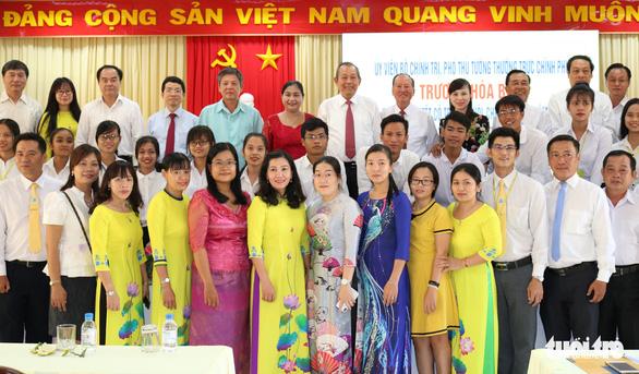 Phó thủ tướng Trương Hoà Bình chúc Tết Chôl Chnăm Thmây - Ảnh 2.