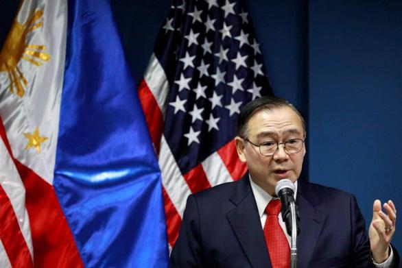 Ngoại trưởng Philippines nói Mỹ sẽ là đồng minh quân sự duy nhất - Ảnh 1.