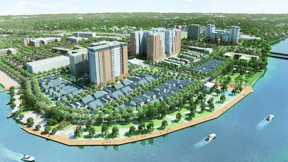Nguy cơ mất hàng trăm tỉ đồng tiền thuế tại dự án Tân An Huy - Ảnh 1.