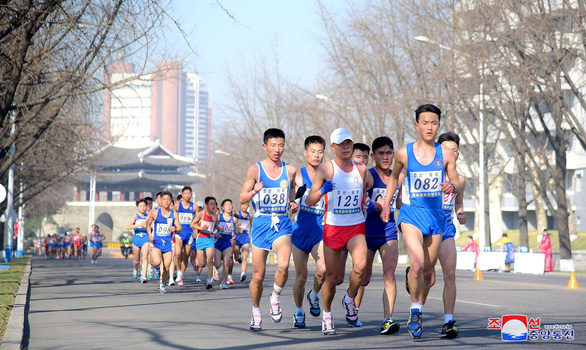 Du khách đổ về Bình Nhưỡng nhờ giải marathon - Ảnh 3.
