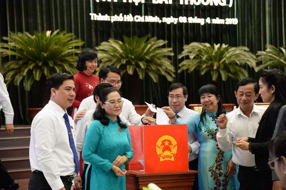 Bà Nguyễn Thị Lệ được bầu làm chủ tịch HĐND TP.HCM - Ảnh 2.