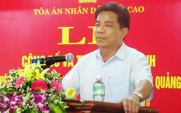 Ông Lê Văn Dũng làm phó bí thư Tỉnh ủy Quảng Nam - Ảnh 1.
