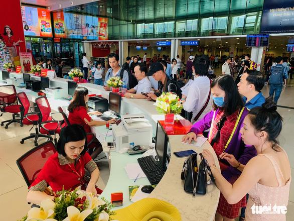 Thai Vietjet, Vietnam Airlines tăng cường khai thác tần suất bay quốc tế - Ảnh 1.
