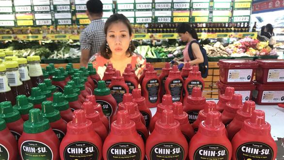 thu hồi 18000 chai tương ớt chinsu ở Nhật Bản