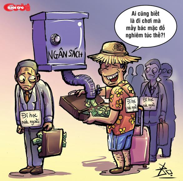 Biếm họa: Đi du lịch bằng ngân sách - Ảnh 2.
