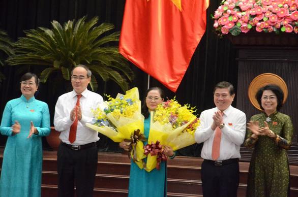 Bộ chính trị đã chuẩn y bà Nguyễn Thị Lệ làm phó Bí thư Thành ủy - Ảnh 1.