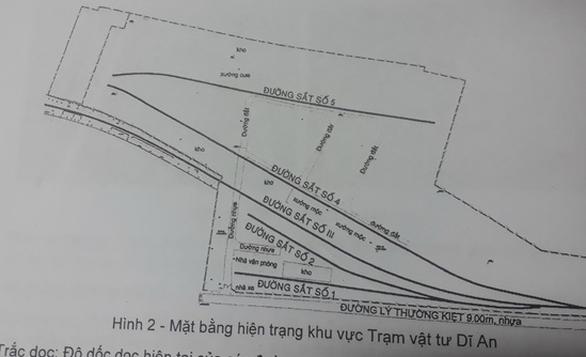 Cục Đường sắt phải nhờ bộ can thiệp vụ dỡ đường ray phân lô bán nền - Ảnh 2.
