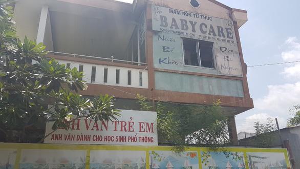 Cháy trường mầm non, sơ tán 120 trẻ giữa trưa - Ảnh 2.
