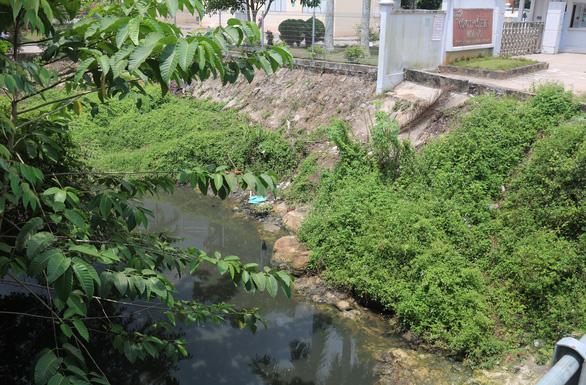 Nhiều cơ sở sản xuất xả nước thải trực tiếp ra sông Dương Đông - Ảnh 2.