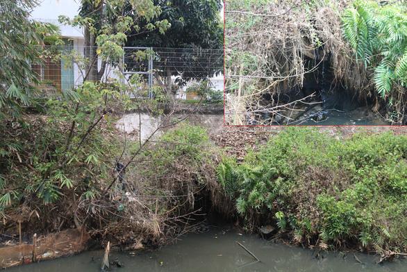 Nhiều cơ sở sản xuất xả nước thải trực tiếp ra sông Dương Đông - Ảnh 1.