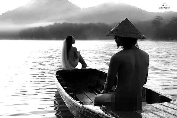 Đôi nam nữ chụp ảnh nude ở hồ Tuyền Lâm là bôi xấu Đà Lạt? - Ảnh 1.