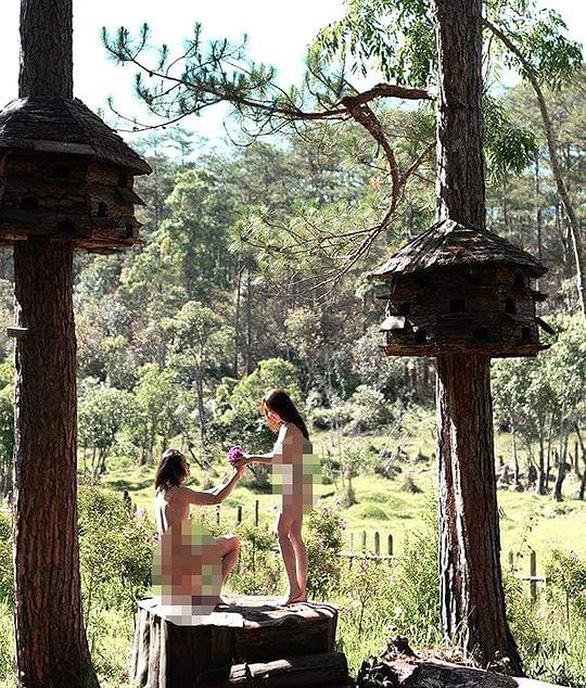 Đôi nam nữ chụp ảnh nude ở hồ Tuyền Lâm là bôi xấu Đà Lạt? - Ảnh 2.