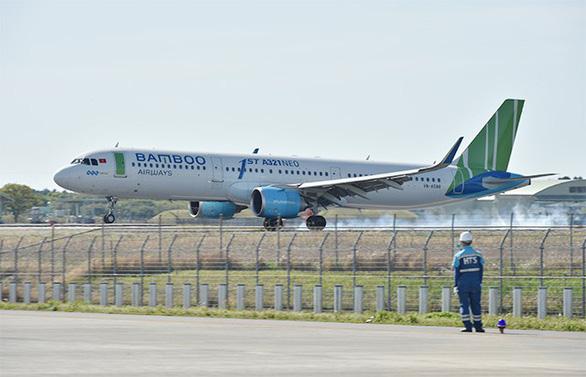 Bamboo Airways tiếp tục dẫn đầu về tỉ lệ đúng giờ - Ảnh 1.