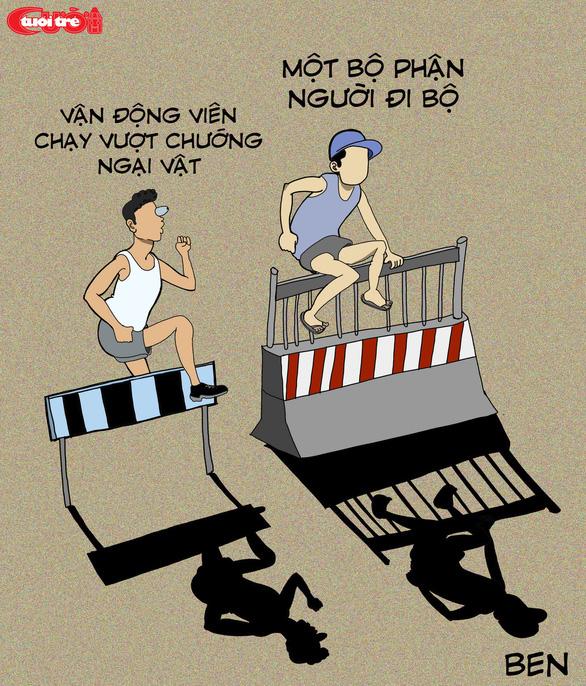 Văn hóa giao thông qua tranh biếm họa - Ảnh 5.