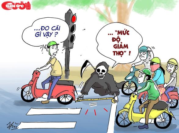 Văn hóa giao thông qua tranh biếm họa - Ảnh 7.