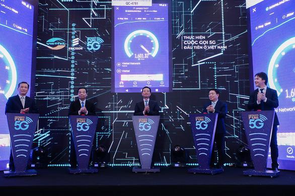 Thử nghiệm thành công cuộc gọi đầu tiên tại Việt Nam bằng công nghệ 5G - Ảnh 2.