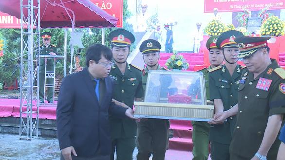 Các anh hùng liệt sĩ hi sinh trên đất Lào vì tình hữu nghị hai nước - Ảnh 2.