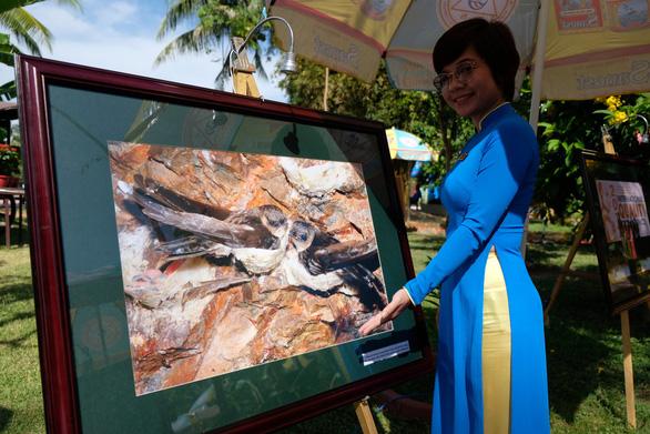 Triển lãm yến sào và trầm hương Khánh Hòa hút khách du lịch - Ảnh 2.
