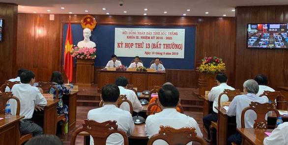 Phó chủ tịch tỉnh Sóc Trăng Lê Thành Trí xin nghỉ hưu sớm - Ảnh 1.