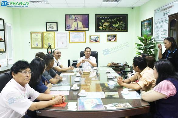 Cùng khách hàng STCPHARCO mục sở thị nhà máy đạt chuẩn GMP-WHO - Ảnh 1.